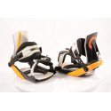 nové snowboardové viazanie ATOMIC REVIVAL steel, BLACK/yellow, size S ( NOVÉ )