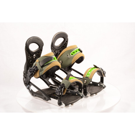 neue Snowboardbindung ATOMIC SPLIT BOARD ATOMIC BDG P.POACHER black/green; size L/XL ( NEU )