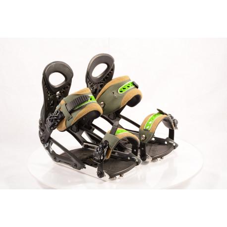 new snowboard binding ATOMIC SPLIT BOARD ATOMIC BDG P.POACHER black/green; size L/XL ( NEW )