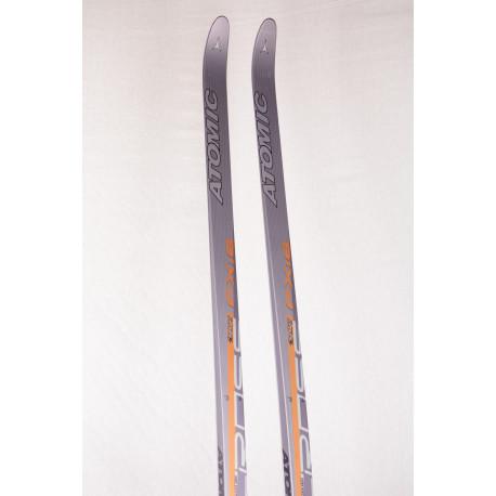new cross-country skis ATOMIC FX:8 FITNESS CROSS, grey/orange, APG - Atomic power grip, BI 2009 - WITHOUT BINDING ( NEW )