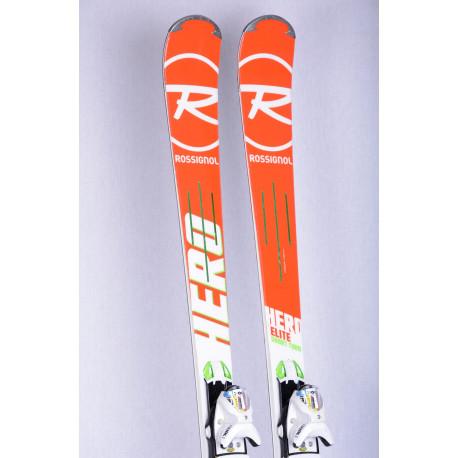 skis ROSSIGNOL HERO ELITE SHORT TURN, E-ST titanal, Power Turn + Look SPX 12