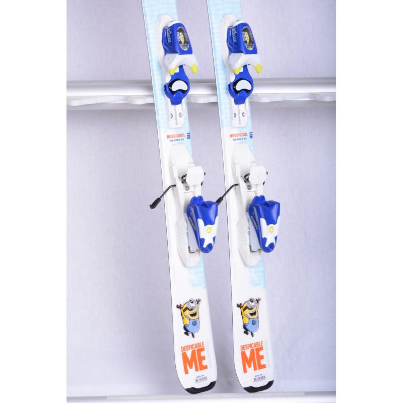 detské/juniorské lyže ROSSIGNOL DESPICABLE ME, Minion + Rossignol KIDX 4.5 ( TOP stav )