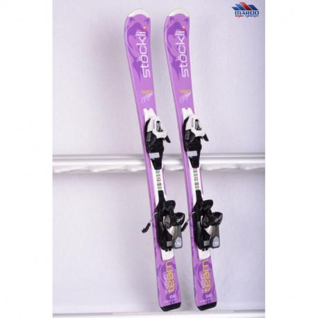 children's/junior skis STOCKLI TEAM MOTION violet + Salomon CS 4.5 ( like new )