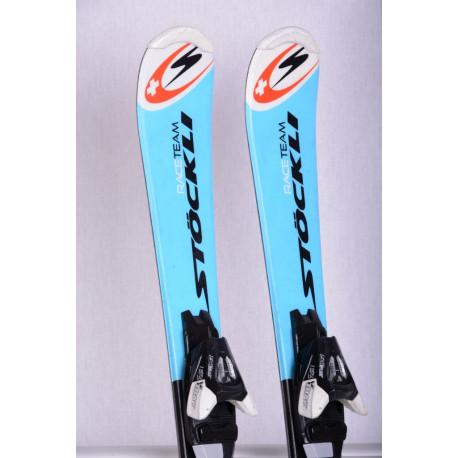 detské/juniorské lyže STOCKLI TEAM RACE blue + Atomic EZYTRAK 5 ( ako NOVÉ )