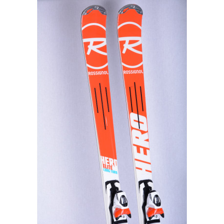 lyže ROSSIGNOL HERO ELITE LONG TURN, E-LT carbon, power turn + Look Axium 120 ( TOP stav )