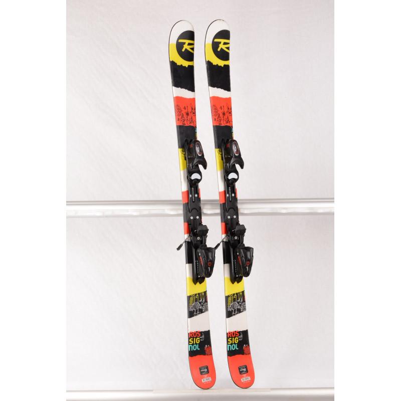 detské/juniorské lyže ROSSIGNOL SPRAYER PRO RED/black, FREESTYLE, TWINTIP + Rossignol Xelium 4.5