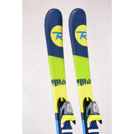 children's/junior skis ROSSIGNOL TERRAIN + Rossignol COMP 4.5 ( TOP condition )