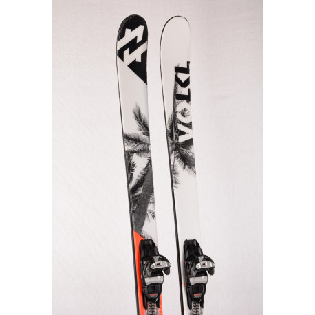 freestyle/freeride lyže VOLKL LEDGE, TWINTIP, TIP and TAIL rocker, woodcore + Marker SQUIRE 11