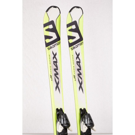 children's/junior skis SALOMON X-MAX Jr., Carve rocker + Salomon Ezytrak 7