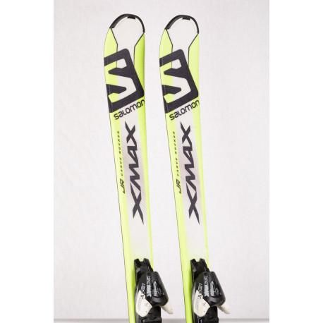 detské/juniorské lyže SALOMON X-MAX Jr., Carve rocker + Salomon Ezytrak 7
