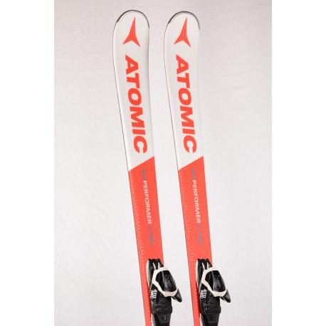 esquís ATOMIC PERFORMER XT, Fibre core, Piste rocker, BEND-X system + Atomic L10 ( Condición TOP )