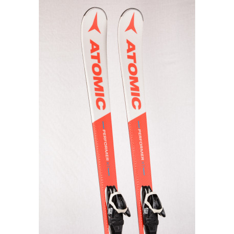 skis ATOMIC PERFORMER XT 2018, Fibre core, Piste rocker, BEND-X system + Atomic L10 ( TOP condition )