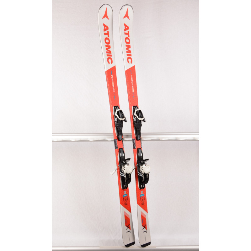 skis ATOMIC PERFORMER XT, Fibre core, Piste rocker, BEND-X system + Atomic L10 ( TOP condition )