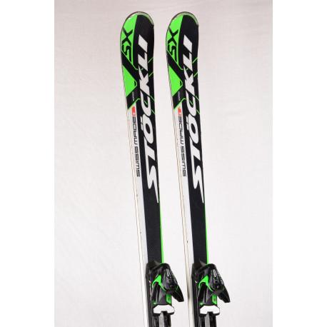 skis STOCKLI LASER SX CPO, TITAN, Woodcore, SWISS made + VIST 311 ( like new )