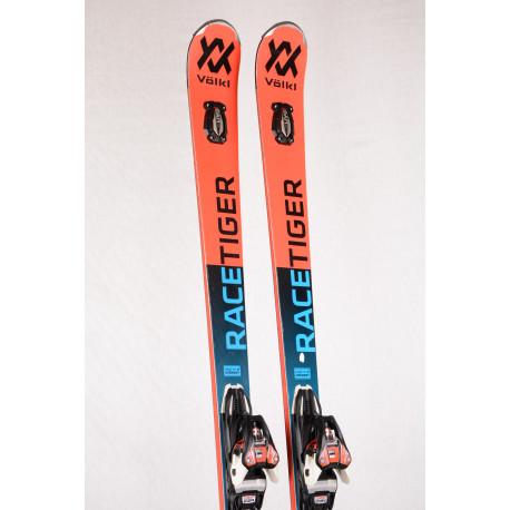 ski's VOLKL RACETIGER GS 18 UVO, speedwall, woodcore, TIP rocker, titanium + Marker XCELL Motion 12 ( TOP staat )