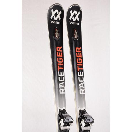 skis VOLKL RACETIGER RC UVO, full sensor woodcore + Marker Motion 10