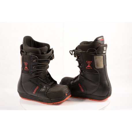 snowboard boots BURTON MENs PROGRESSION IMPRINT black/red ( TOP condition )