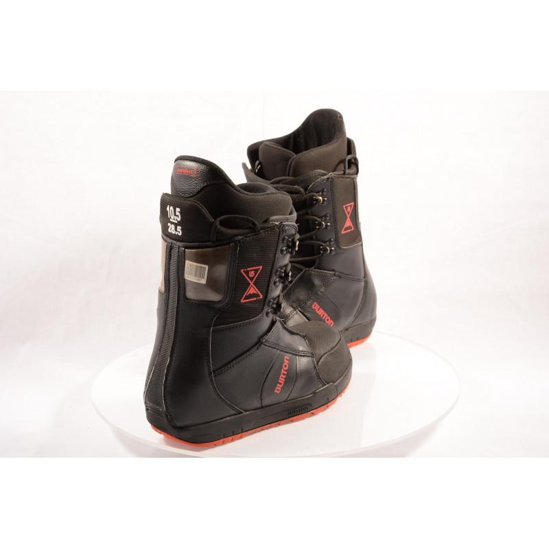 snowboardové topánky BURTON MENs PROGRESSION IMPRINT black/red ( TOP stav )