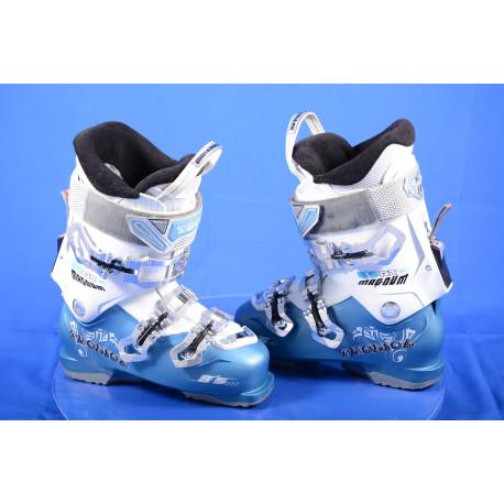 dámske lyžiarky TECNICA MAGNUM 85 W, QUADRA ultrafit, SKI/WALK, IFS - freeride system, BLUE/white