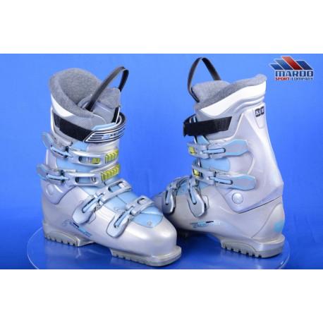 women's ski boots SALOMON IRONY, GREY/blue, extended lever