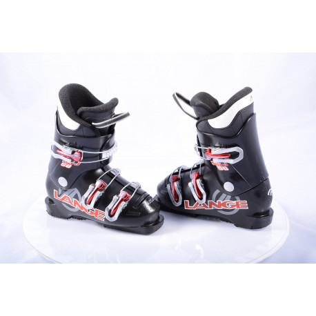 detské/juniorské lyžiarky LANGE RSJ 50 black/red, macro ( TOP stav )