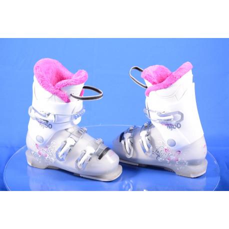 detské/juniorské lyžiarky LANGE STARLETT RSJ 50, WHITE/pink