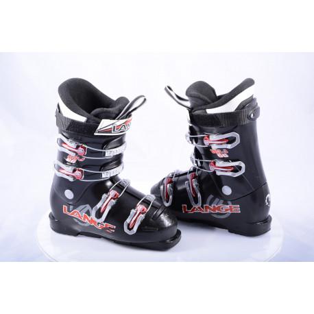 detské/juniorské lyžiarky LANGE RSJ 60 black/red, macro, ALU 6S