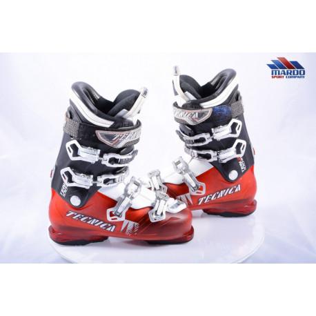 ski boots TECNICA TEN.2 100 HVL red, flex 100, micro, QUADRA tech, ULTRA FIT hvl, REBOUND, micro, macro, canting