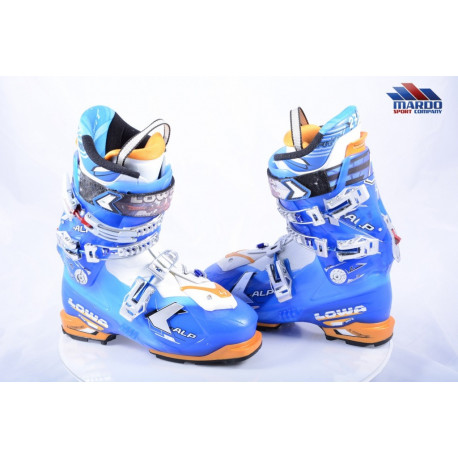 skialpinistické lyžiarky LOWA X-ALP, micro, macro, ALLOY, canting, SKI/WALK, climbing system ( TOP stav )