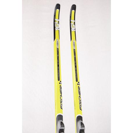 cross-country skis FISCHER ORBITER CROWN, NORDIC cruising, WIDE body, AIR tec, HIGHTEC light core, carbon + Fischer T3 NNN