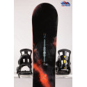 snowboard BURTON CUSTOM X WIDE, BLACK/red, WOODCORE, CARBON, SIDEWALL, The channel, CAMBER ( TOP stav )