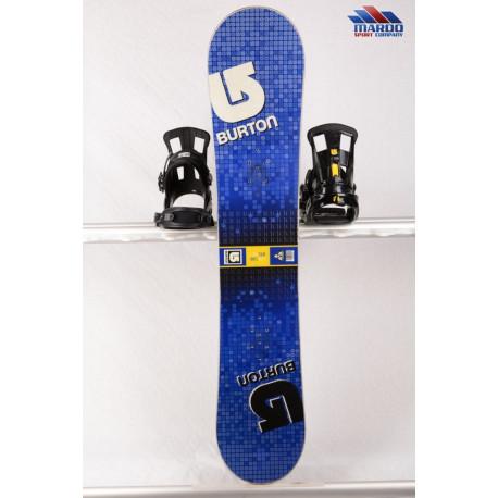 snowboard BURTON LTR BLOCK, BLUE/yellow, WOODCORE, sidewall, CAMBER ( TOP stav )