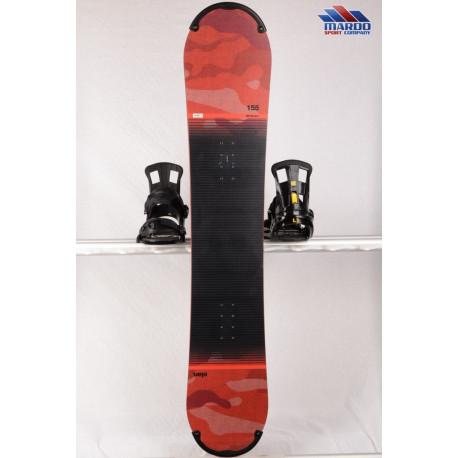 snowboard ELAN RS ROCKER 2018, black/red, woodcore,carbon, handmade, ALL terrain, ROCKER