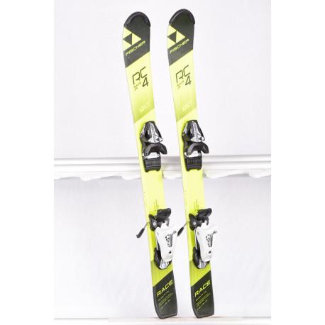 detské/juniorské lyže FISCHER RC4 RACE Jr. 2019 Yellow/black + Fischer FJ 4