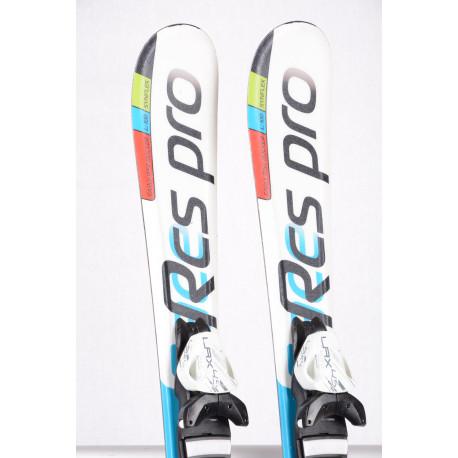 children's/junior skis STUF RCS PRO white/blue, SYNFLEX + Tyrolia LRX 4.5 ( TOP condition )