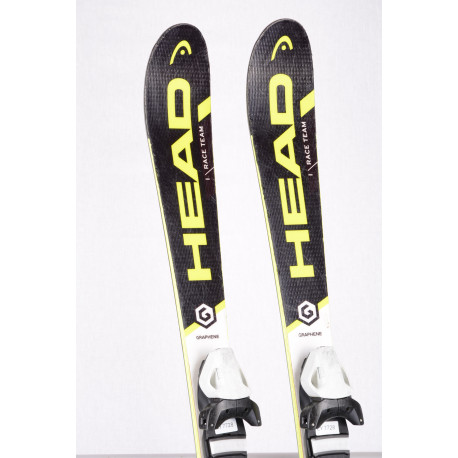 detské/juniorské lyže HEAD WC i.RACE TEAM, GRAPHENE black/yellow + Head 7.5