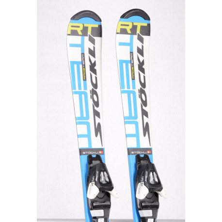 children's/junior skis STOCKLI RACE TEAM, SWISS made + Atomic Ezytrak 5