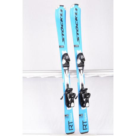 children's/junior skis STOCKLI RT TEAM 2019 blue + Salomon Ezytrak 5 ( TOP condition )