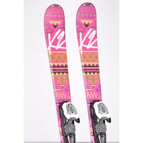 detské/juniorské lyže K2 LUV BUG 2018 + Marker 4.5 ( TOP stav )