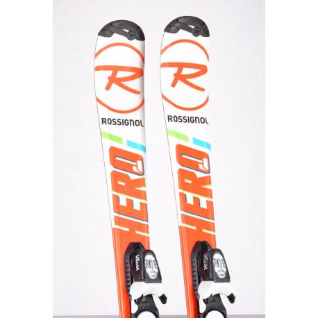 children's/junior skis ROSSIGNOL HERO J + Look KIDX 4.5