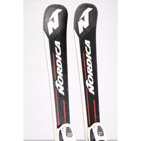 children's/junior skis NORDICA DOBERMANN COMBI PRO S, CARBON energy + Marker 7.0
