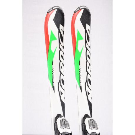 children's/junior skis NORDICA DOBERMANN TEAM RACE J white + Marker 7.0