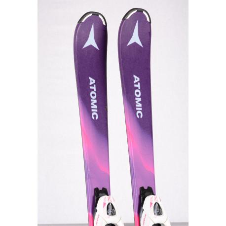 dětské/juniorské lyže ATOMIC VANTAGE GIRL 2019 + Atomic C5 ( jako NOVÉ )