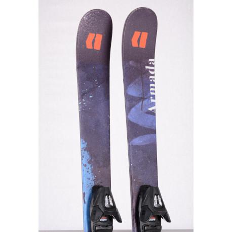 detské/juniorské lyže ARMADA BANTAM J 2020, FREESTYLE, TWINTIP + Armada 4.5 ( ako NOVÉ )
