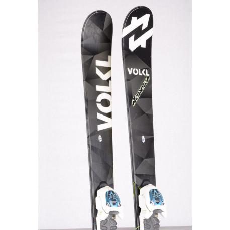 detské/juniorské lyže VOLKL WALL Jr. 2018 FREESTYLE + Marker 4.5 white ( ako NOVÉ )