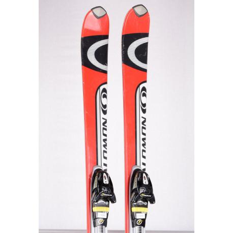 skis SALOMON VERSE 5.5 free flex, RED/grey + Tyrolia FF 11
