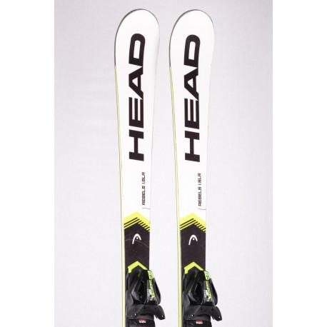 skis HEAD WORLDCUP REBELS i.SLR 2020 INTELLIGENCE TECH, BLACK/yellow + Head PR 11