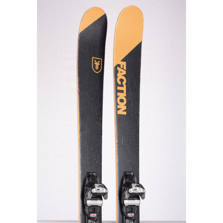 freeride lyže FACTION CANDIDE THOVEX 2.0 GOLD 2019, Woodcore + Marker Squire 11