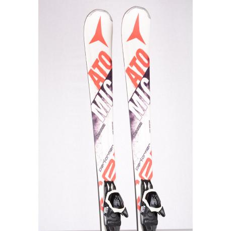 skidor ATOMIC PERFORMER SCANDIUM SC, Light woodcore, Piste rocker + Atomic L10 Lithium ( TOP-tillstånd )