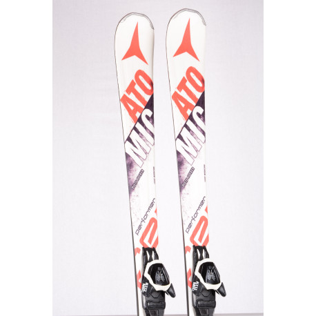 skis ATOMIC PERFORMER SCANDIUM SC, Light woodcore, Piste rocker + Atomic L 10 lithium ( TOP condition )